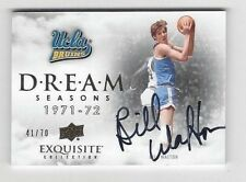 2012-13 Exquisite Dream autographed basketball card Bill Walton, UCLA Bruins