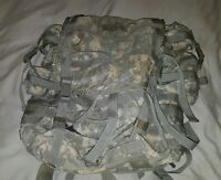 MOLLE II LARGE RUCKSACK FIELD PACK ACU COMPLETE SET UP US Military Issue NICE