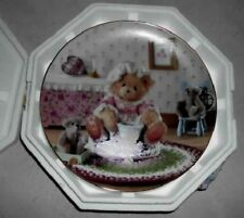 Cherished Teddies Little Miss Muffet Collectible Plate Limited Edition Enesco