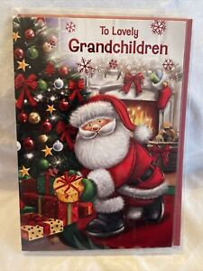 Grandchildren Christmas Card / To grandchildren Christmas card - 4 styles