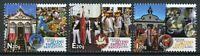 Portugal Cultures Stamps 2020 MNH Festivals Divino Espirito Santo Azores 3v Set