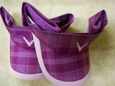 2 NEW Callaway Golf Grape Juice Purple Plaid Adjustable Visor/Hat/Cap 5213018
