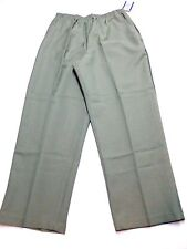 Blair Womens Size 20P Green Silhoutte Slimmer Casual Polyester Pants New
