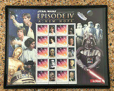 2012 Australia Star Wars Episode Iv A New Hope Sheet Mnh