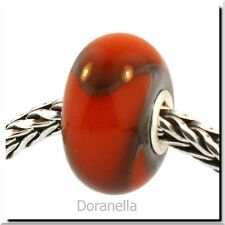 Authentic Trollbeads Glass 61307 Orange Armadillo :1 RETIRED