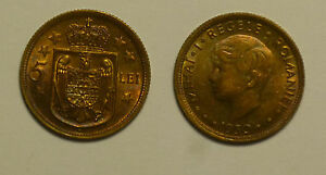 Romania 5 Lei 1930 HEATON aUNC - Great Toning