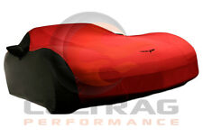 2005-2013 C6 Corvette Genuine GM Black & Red Outdoor Car Cover 19158378