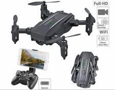 Faltbarer FPV-Mini-Quadrocopter, Full HD, WLAN, App, 5-MP-Sensor, 50 m