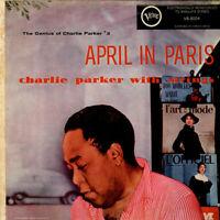 Charlie Parker With Strings - April In Paris - (Vinyl LP - 1957 - US - Reissue)