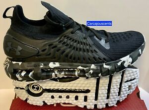 Men's Under Armour HOVR Phantom RN OPS Black Camo Running Shoes Size 10