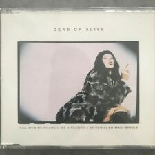 "DEAD OR ALIVE - Australian 5""  CD Maxi Release - You spin me round 96'"