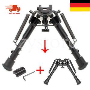 6-9 Zoll Compact Spring Return Scharfschützen Jagdgewehr Zweibein+Rail Mount
