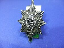 ww cap badge worcestershire regiment black anodised gaunt military armed forces