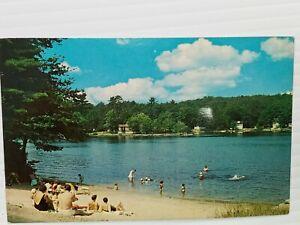 Vintage Postcard Shadow Lake Home of the Sweepstakes Salem NH New Hampshire