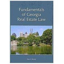 Fundamentals of Georgia Real Estate Law by Mara A. Mooney (2010, Paperback)