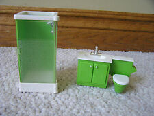 1977 Fisher Price Doll House Decorator Set BATHROOM SET