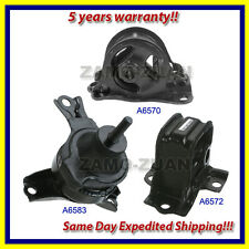 fits: 1998-2002 Honda Accord 2.3L Motor & Trans. Mount Set 3PCS for Auto Trans.