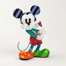 Estatua de Enesco Disney MICKEY MOUSE estatuilla figura RESINA par ROMERO BRITTO