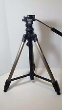 """64"""" Velbon Videomate 607 Tripod Vel-flo 9 PH-368 Mini Pro Fluid Pan Head w/ bag"""