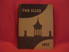 THE ILLIO,1953 Volume 60, University of Illinois Yearbook