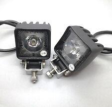 2 X MONARK MINI LED ARBEITSSCHEINWERFER 12 & 24V WORK LAMP FOR TRUCK TRAILER ATV