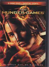 THE HUNGER GAMES (DVD, 2-Disc Set)