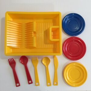 BAMBOLA Denmark Plastic Pretend Play Kitchen Dish Drainer