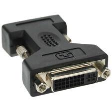 DVI-A Adapter 24+5 Stecker auf VGA Stecker 15polig Schwarz
