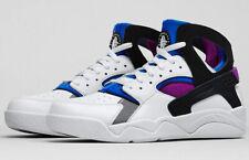 best sneakers 0d8d5 1e968 Nike Air Flight Huarache PRM QS Fab Five Kyrie kyrache White Blue Berry  Men s 8
