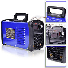 140A 110V Mma-250 Portable Inverter Digital Welder Stick Weld Great Machine