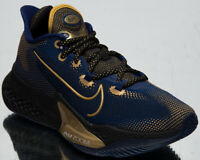 Nike Air Zoom BB NXT Men's Blue Void Gold Black Low Basketball Sneakers Shoes