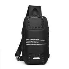 Multi-functional chest bag,black