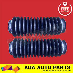 2 x Front Strut Dust Cover Boot Kit Suit Most Struts Shock Absorbers Multifit