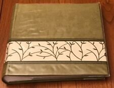 New Pioneer Photo Album - 200 4x6 Photos Faux Suede Cover Green Cream DA200EMBGL