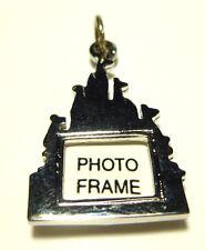 Cinderella Castle Photograph Frame Charm Disney Sterling Silver Magic Kingdom