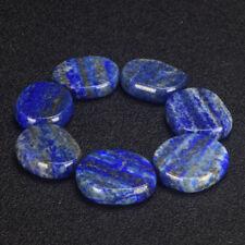 Natural Lapis Lazuli Polished Palm Thumb Worry Stone Crystals Healing 1pc