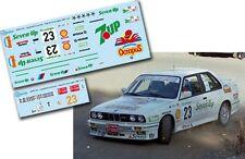Decal 1:43 Fernando Capdevila - BMW M3 - Rally El Corte Ingles 1987