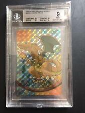 1999 Pokemon Topps Vending Series Charizard #6 Prism Checkered BGS 9+++