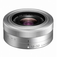 Panasonic Lumix G vario 12-32mm 12-32 mm 3.5-5.6 ASPH. O.I.S. plata mercancía nueva