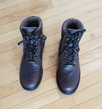 New Men's Wolverine Durable Leather Boots Size 10