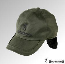 Browning Cap Winter Wax Fleece Lined Green (308984)