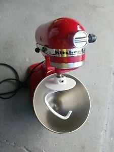 KitchenAid Classic Series 4.5 Quart Tilt-Head Stand Mixer In RED KSM45ER 100%