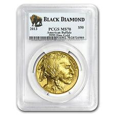 1 oz Gold Buffalo MS-70 PCGS (Random Year) - SKU #83493