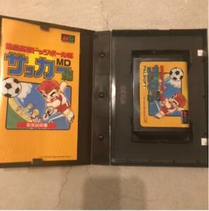 Mega Drive KUNIO KUN Nekketsu Koukou Dodgeball Bu Soccer Hen SEGA Rare
