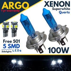 For Nissan Juke F15 Xenon White Headlight 100w Bulbs Hid Headlamp Side Light 12v