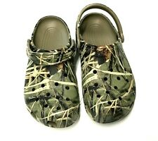 NWT! Camouflage Crocs Women's Size 10 or Men's Size 8