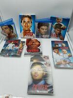 Lot Season 1 - 5 Showtime Dexter TV Series DVD 1 & 3 Bluray 2, 4 & 5 DVD Box Set