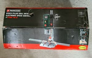 Parkside Bench Pillar Drill With Electronic Speed Control PTBM 710 A1