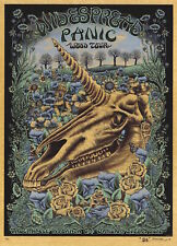 Mint & Signed Emek 2013 Widespread Panic Atlanta Unicorn Wood Poster 14/50