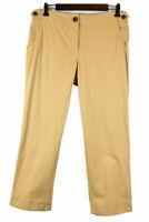 Talbots Women Pants Chinos/Khakis 6 Tan Cotton